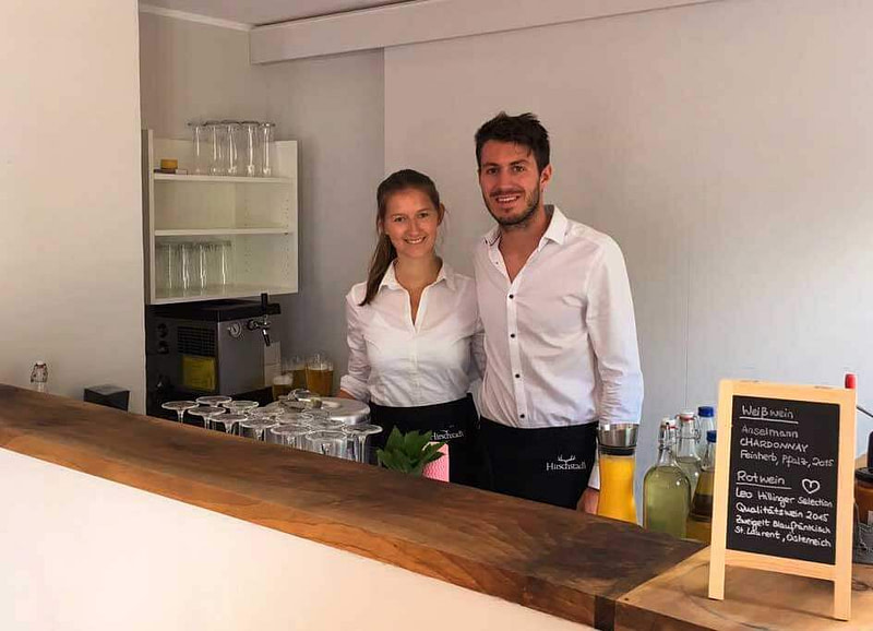 mobiles Cocktail Catering mieten mit Barkeeper und Servicepersonal