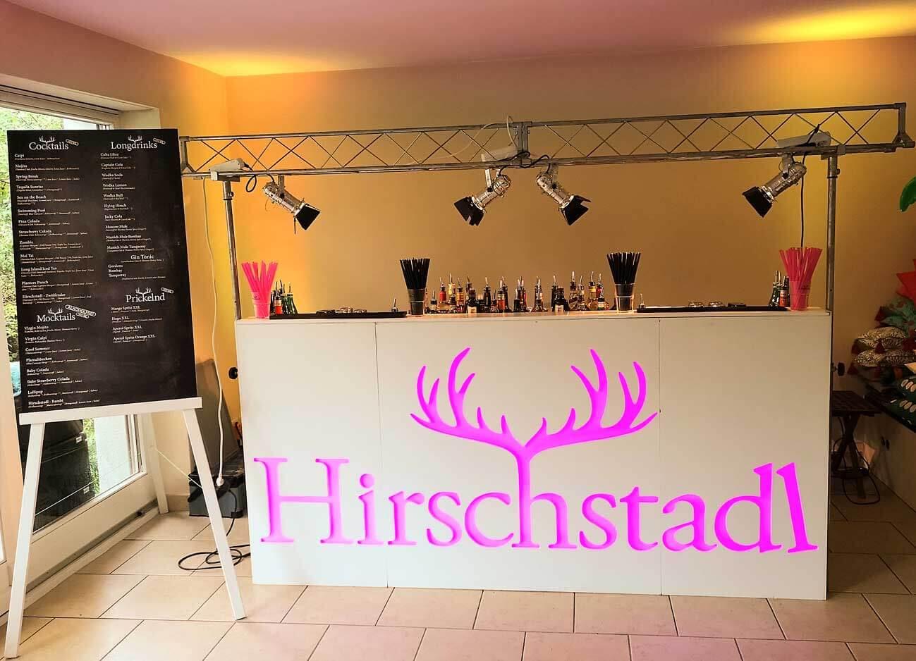 mobiles Cocktail Catering in München mieten mit mobilen Barkeepern